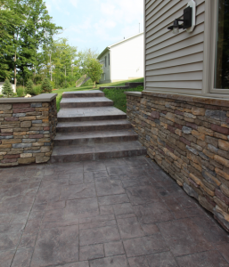 Stamped Concrete Driveways & Patios Buffalo, NY