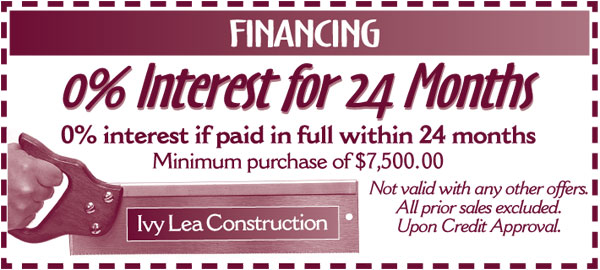 Ivy Lea Construction Financing