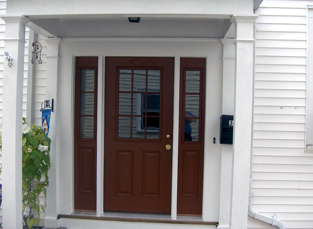 Exterior Door Installation New Construction How To Install A Door The Family Handyman Exterior