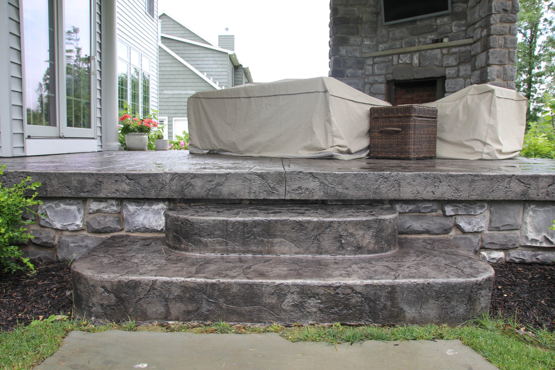 Porch Repair Amp Construction Buffalo Concrete Patio Ideas