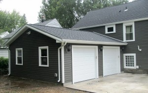 New Garage Construction from Ivy Lea in Buffalo NY