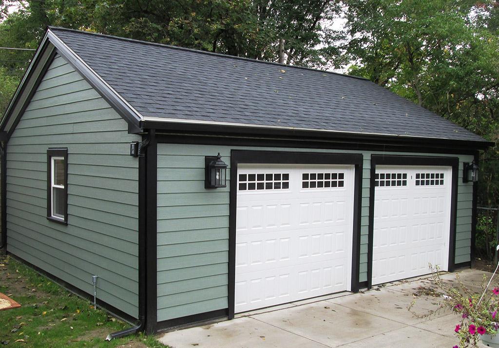 Garage builders and repair new construction ivy lea for Garage building contractors