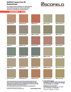 Concrete Color Choices Buffalo NY