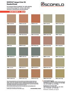 Concrete Color Choices Buffalo NY