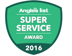 Angie's List Super Service Award for Ivy Lea Construction