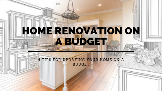 4 Tips for Updating Your Home on a Budget