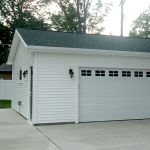 Garage Construction Job in Buffalo by Ivy Lea Construction