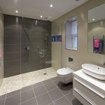 Modern Bathroom Remodel in Buffalo   Ivy Lea Construction